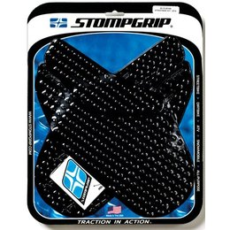 Stompgrip Traction Pad Tank Kit Black For Honda CBR1000RR 2004-2007 55-10-0016B