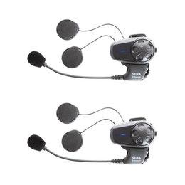 Sena Technologies SMH10D-11 Dual Bluetooth Headset With Universal Microphone Black
