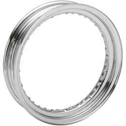 Drag Specialties 16x3.00 40-Hole SRV Rim For Harley-Davidson Chrome 0210-0323 Metallic