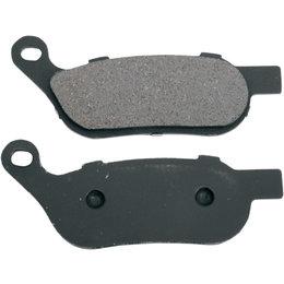 Drag Specialties Semi-Metallic Rear Brake Pads Single Set For Harley 1721-0932