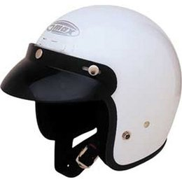 White Gmax Youth Gm2y Open Face Helmet