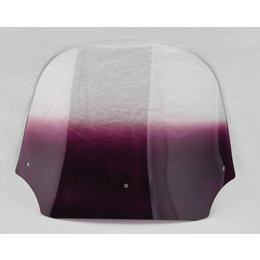 Memphis Shades Batwing Fairing Windshield Purple 12 Inch