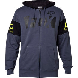 Fox Racing Mens Libra Sherpa Lined Zip Hoody Blue