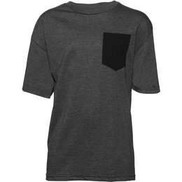 Thor Youth Boys Shroud Pocket T-Shirt Grey
