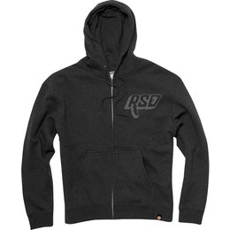 RSD Mens Bolt Zip Graphic Hoody Black