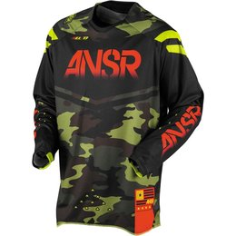 Answer Mens Limited Edition Elite Motocross MX Jersey Multicolored