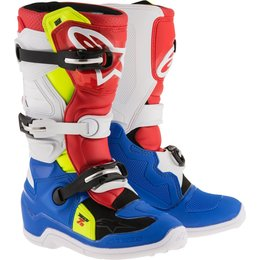 Alpinestars Youth Boys Tech 7S MX Motocross Offroad Riding Boots Blue