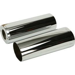 HardDrive Upper Fork Tube Slider Cover For Harley-Davidson Chrome 302603 Silver