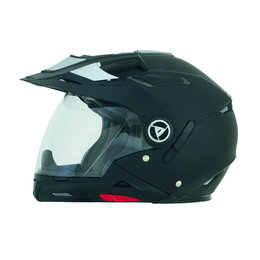 Flat Black Afx Mens Fx-55 Fx55 Convertible 7-in-1 Helmet