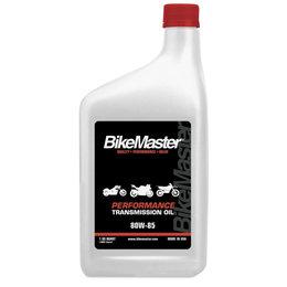 Bikemaster Transmission Oil For 2-Stroke/4-Stroke 80W85 1 Quart 531823 Unpainted