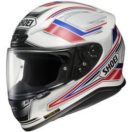 Red Shoei Mens Rf-1200 Rf1200 Dominance Full Face Helmet 2013