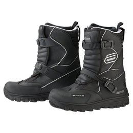 Arctiva Mens Mechanized Insulated Snowmobile Boots Black