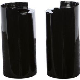HardDrive Upper Fork Tube Slider Cover For Harley-Davidson Black 302604 Black