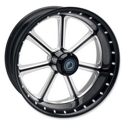 Black Rsd Diesel Front Wheel For Harley Davidson Flstf 08-10