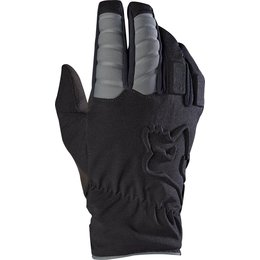 Fox Mens Forge Cold Weather Riding Gloves Black