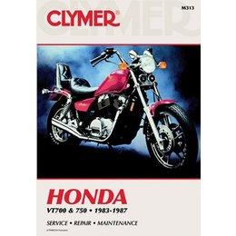 Clymer Repair Manual For Honda VT700 VT750 Shadow 83-87