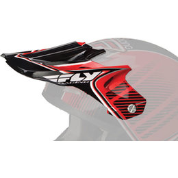Red, Black Fly Racing Repl Visor F Kinetic Pro Trey Canard Replica Helmet Red Black