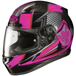HJC Womens CL-17 CL17 Striker Full Face Motorcycle Helmet Pink