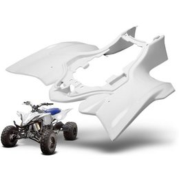 Maier Rear Fender White For Yamaha YFZ 450R 450X 09-10