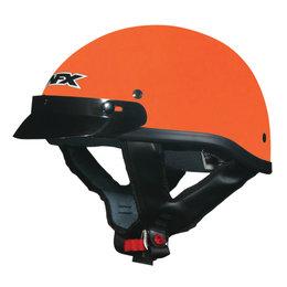AFX FX-70 FX70 Beanie Half Helmet Orange
