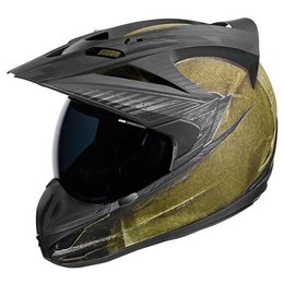 Covert Green Icon Variant Battlescar Dual Sport Helmet