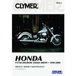Clymer Repair Manual For Honda VT750 VT-750 98-06