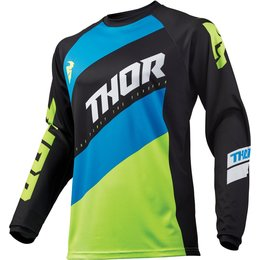 Thor Youth Boys Sector Shear Jersey Black