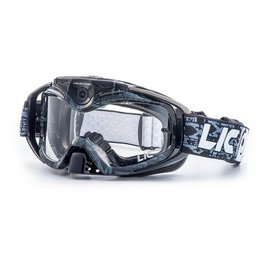 Black Liquid Image Torque 368 Goggles With Hd Camera
