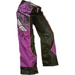 Black, Purple, Pink Fly Racing Girls Kinetic Over-the-boot Pants 2015 Us 20 Black Purple Pink