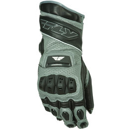 White, Blue Fly Racing Mens Fl-2 Gauntlet Leather Gloves 2015 White Blue