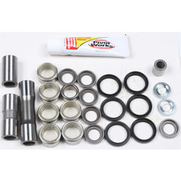 Pivot Works Linkage Bearing Rebuild Kit For Suzuki RMZ250 RMZ450 PWLK-S50-000 Unpainted