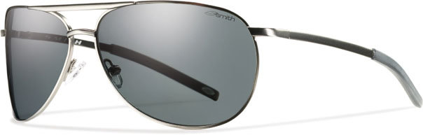 4b4b49de7fc ... Matte Gunmetal Smith Optics Serpico Slim Sunglasses Grey Polarized