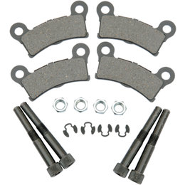 Drag Specialties Semi-Metallic Rear Brake Pads Two Sets For Harley 1721-1301