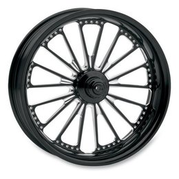 Black Rsd Domino Rear Wheel For Harley Fist Fxst Fxd Fxr 84-99