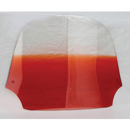 Memphis Shades Batwing Fairing Windshield Orange 12 Inch