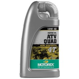 Motorex ATV/Quad 4T Semi Synthetic Oil For 4-Stroke Engines 10W40 1 Liter