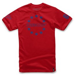 Alpinestars Mens Ace T-Shirt Red