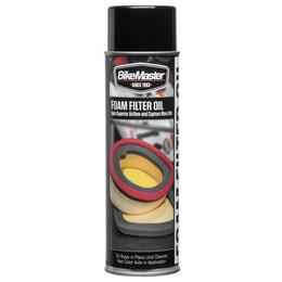 Bikemaster Foam Filter Oil Spray 13 Oz 531855 Unpainted
