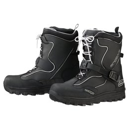 Arctiva Mens Comp Insulated Snowmobile Boots Black