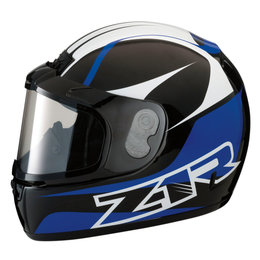 Z1R Phantom Peak Snowmobile Helmet With Dual Pane Shield Blue