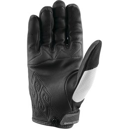 Speed & Strength Womens Backlash Leather Riding Gloves White