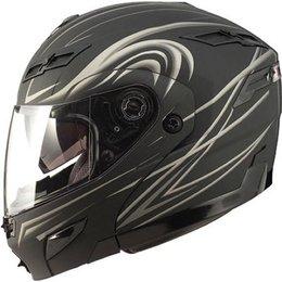 Flat Black Gmax Gm54s Modular Derk Helmet