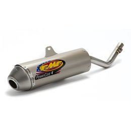 FMF Powercore 4 S/A Muffler Aluminum For Kawasaki KLX140L 2008-2012 042161