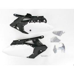 UFO Plastics Side Panel White For Yamaha YZ450F 2010