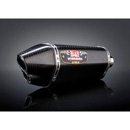 Carbon Fiber Muffler/carbon Fiber End Cap Yoshimura R-77d Slip-on Muffler Dual Outlet Ss Cf Cf For Suzuki Gsx-r1000 12-13