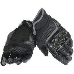 Dainese Mens Carbon D1 Short Leather Gloves Black