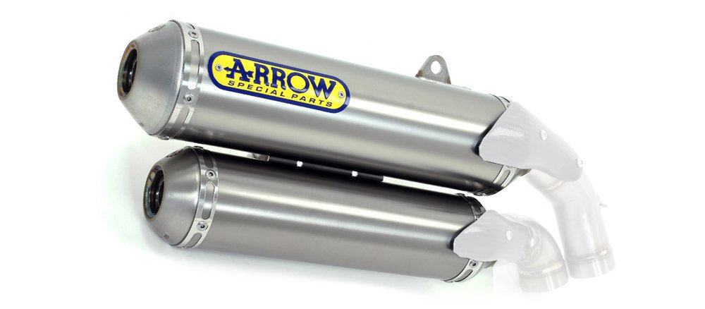 $1,094.41 arrow round-sil exhaust for ducati multistrada #242494