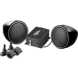 Boss Audio Systems Weatherproof All Terrain Stereo System With 600W Amp Black