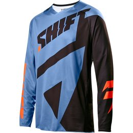Shift Racing Mens Black Label Mainline Jersey Blue