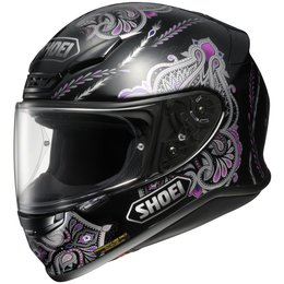 Black Shoei Womens Rf-1200 Rf1200 Duchess Full Face Helmet 2013